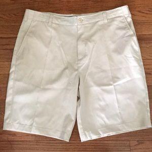 Men's Golf Shorts bcg Sz 36W Cream Color